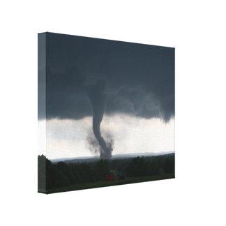 Wynnewood, OKAY Leinwand des Tornado-EF4