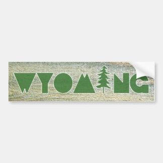 Wyoming Autoaufkleber
