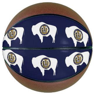 WYOMING-Flaggen-Entwurf - Basketball