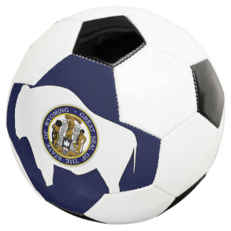 WYOMING-Flaggen-Entwurf - Fußball