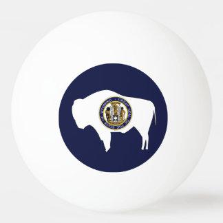 WYOMING-Flaggen-Entwurf - Tischtennis Ball