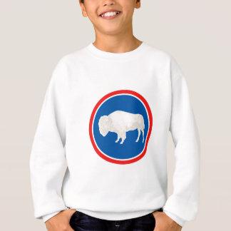Wyoming-Flaggen-Thema 00 Sweatshirt