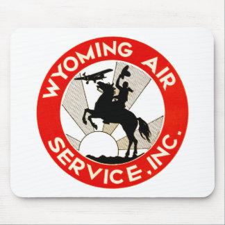 Wyoming-Fluglinienverkehr Mousepad