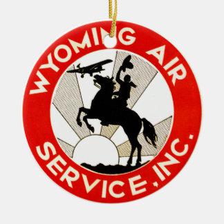 Wyoming-Fluglinienverkehr Ornament