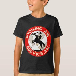 Wyoming-Fluglinienverkehr T-Shirt