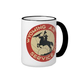 Wyoming-Fluglinienverkehr-Tasse 1930 Ringer Tasse