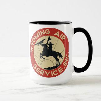 Wyoming-Fluglinienverkehr-Tasse 1930 Tasse