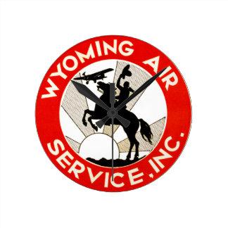 Wyoming-Fluglinienverkehr Uhren