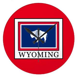 Wyoming Große Wanduhr