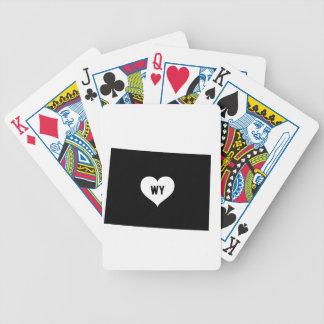 Wyoming-Liebe Bicycle Spielkarten