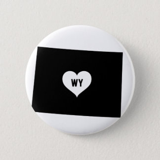 Wyoming-Liebe Runder Button 5,7 Cm