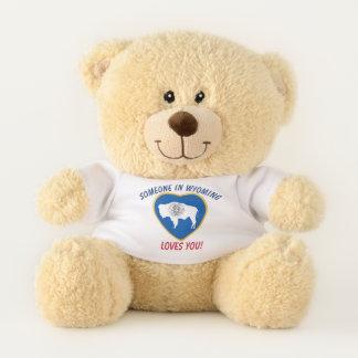 Wyoming-Lieben Sie Teddybär
