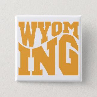 Wyoming Quadratischer Button 5,1 Cm