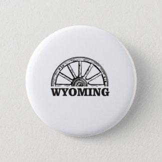 Wyoming-Rad Runder Button 5,1 Cm