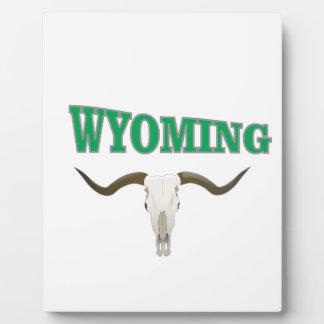 Wyoming-Schädel Fotoplatte