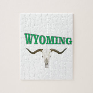 Wyoming-Schädel Puzzle