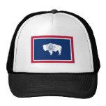 Wyoming-Staats-Flagge Kultkappe