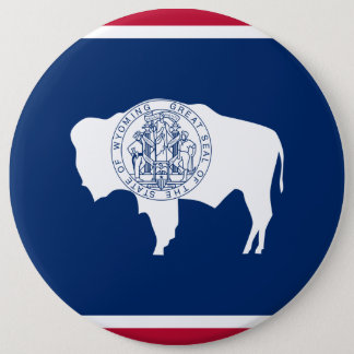 Wyoming-Staats-Flagge Runder Button 15,3 Cm