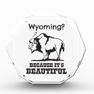 Wyoming? Weil es schön ist Auszeichnung