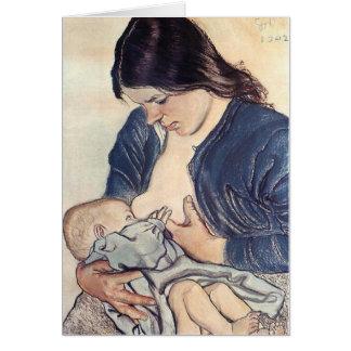 Wyspianski, Maternity, 1902 Karte