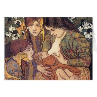 Wyspianski, Maternity, 1905 Karte