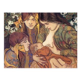 Wyspianski, Maternity, 1905 Postkarte