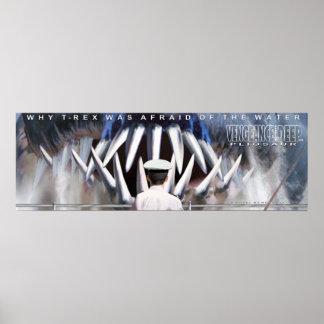 X12 Pliosaur Plakats 6 - Rache Poster