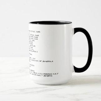 """x86 Zusammenbau """"Menge des Kaffees """" Tasse"""