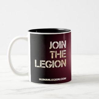 X-Boot Schwertfisch-Legions-Tasse Zweifarbige Tasse