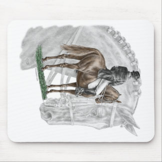 X-Halt Grußdressage-Pferd Mousepad