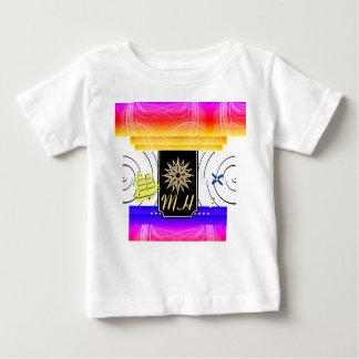 X Kennzeichen der Stellen-Monogramm-Baby-T - Shirt