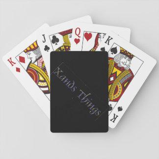 Xands Sache-Spielkarten Spielkarten