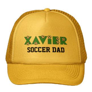 Xavier im Fußball-Grün Retrokappen
