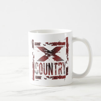XC Cross Country-Läufer Kaffeetasse