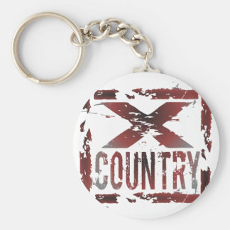 XC Cross Country-Läufer Schlüsselanhänger