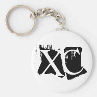 XC - Cross Country Schlüsselanhänger
