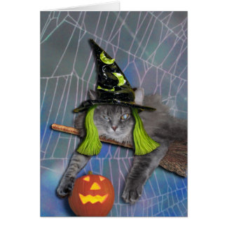 Xena als Hexe Grußkarte