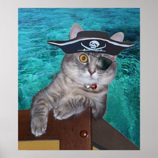 Xena als Piratenplakat Poster