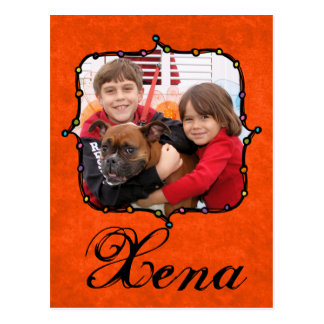 Xena - Boxer Postkarten