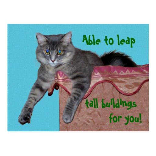 Xena Chillin Postkarte - besonders angefertigt