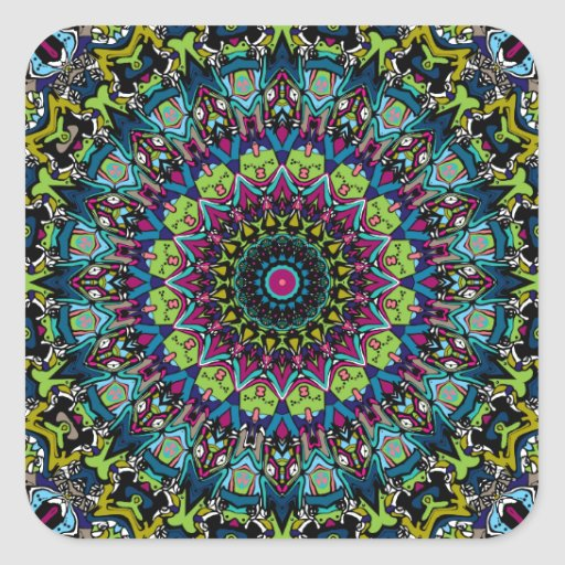 Xena Kaleidoskop-Entwurf Sticker