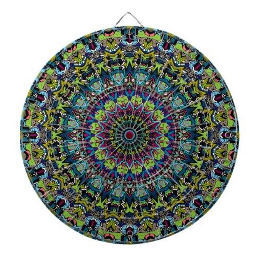 Xena Kaleidoskop-Entwurf Dart-scheibe