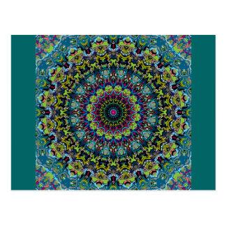 Xena Kaleidoskop-Entwurf Postkarten