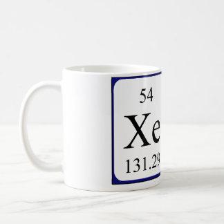 Xena Namen-Tasse periodischer Tabelle Tasse