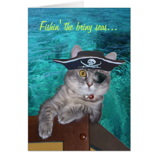 Xena Piraten-Valentinsgruß-Karte -- besonders ange