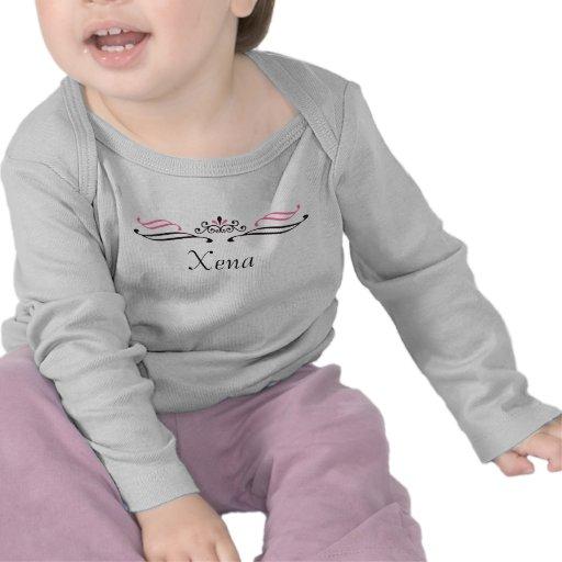 Xena Prinzessin Scroll Crown Shirt