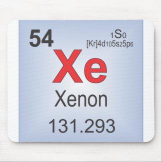 Xenon-einzelne Elemente des Periodensystems Mauspad
