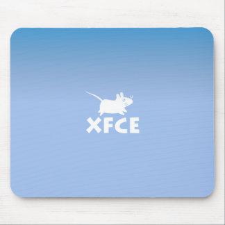 Xfce DE Blue Mauspads