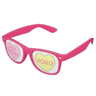 XOXO Dinges-Rosa-Süßigkeits-Herz-Valentinstag Partybrille