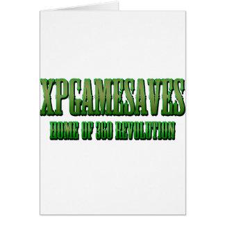XPG green wanted look Range Greeting Card